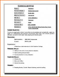 exles of best resume 3 how to write a curriculum vitae for application bussines
