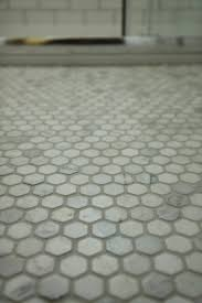 modern country style our gorgeous hexagonal marble mosaic floor