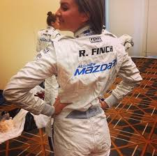 racing jumpsuit rachael finch and tim robards get revved up for the mazda