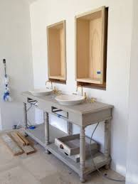 Console Sinks For Small Bathrooms - bathroom gorgeous ideas for bathroom decoration using white wood