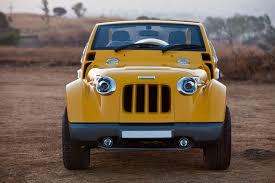 mahindra jeep classic modified dc design modifies mahindra thar motoroids