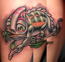 pigment dermagraphics and fine art tattoos thomas page chameleon