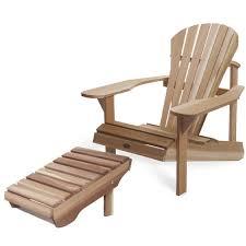 chaise adirondack ensemble fauteuil athena muskoka chaise adirondack et repose pied