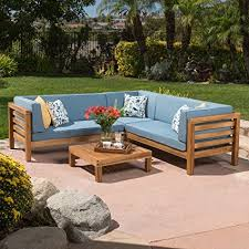 Outdoor Sectional Sofa Ravello Outdoor Patio Furniture 4 Wood Outdoor