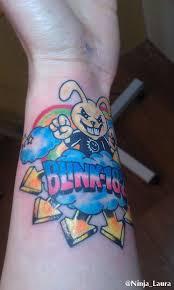 my blink 182 bunny tattoo by ninjalaura on deviantart