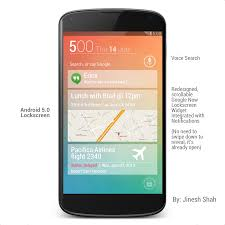 key concepts home design android 5 0 design concept android homescreen by jineshshah36