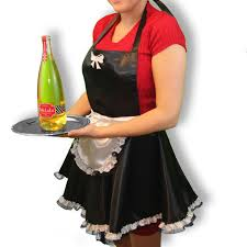 wine bottle halloween costume french maid apron simpler version