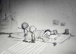 The Night The Bed Fell The Drawings Of Curtis Wiklund U2022 Here U0027s How This Happened In The