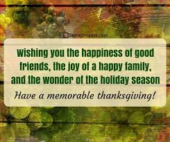 happy thanksgiving day free wishes quotes read