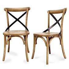 X Back Bistro Chair Bistro Chairs