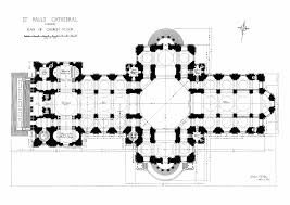Gothic Church Floor Plan by Mapping Hell