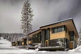 Mountain Chalet Home Plans Eco Friendly Mountainside Homes Reimagine The Classic Ski Chalet
