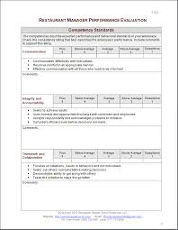 employee review templates 10 free pdf documents download