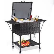 patio beverage cooler cart patio beverage cooler on stand