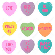 conversation heart conversation heart shapes stock photo picture and royalty