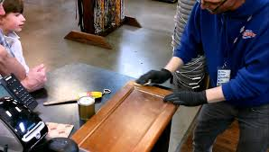 how to clinic strip and stain cabinet doors youtube