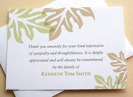 thank you for sympathy card thank you cards thank you sympathy card wording luxury image result