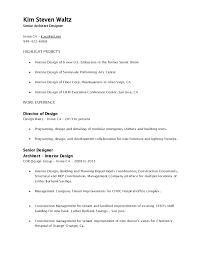 Interior Design Sample Resume Interior Designer Sample Resume Senior Resumes C3 A2 C2 87 C2 97