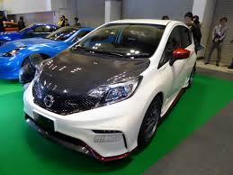 nissan note 2015 file osaka auto messe 2015 223 nissan note nismo s e12 tuned