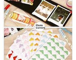 Photo Album Corners Photo Corner Sticker Etsy