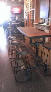 counter height gathering table best 25 bar height table ideas on pinterest tall kitchen within