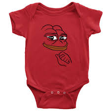 Meme Baby Products - baby onesie smug pepe the frog meme t shirt products pinterest