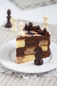 schokoladen schachbrett torte recipe chocolate cake and food