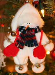 carol steel christmas tree decorations