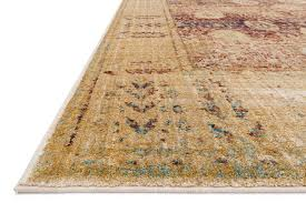 Z Gallerie Area Rugs by Loloi Anastasia Af 09 Red Gold Rug