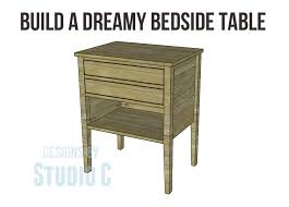 build a dreamy bedside table u2013 designs by studio c