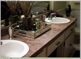ideas for bathroom countertops bathroom countertop decorating ideas 1000 ideas about bathroom