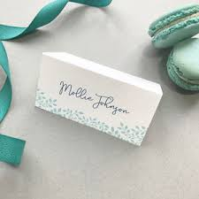 Place Cards Wedding Vintage Name Place Cards
