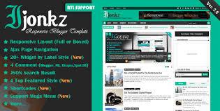 templates v1 blogger ijonkz v2 0 responsive magazine news blogger template