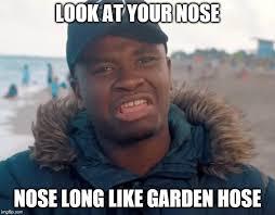 Big Nose Meme - big shaq imgflip
