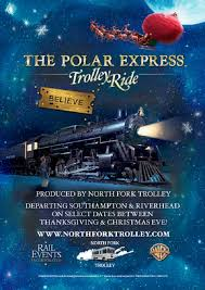 the polar express trolley ride southampton chamber of commerce