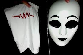 Slender Man Halloween Costume Slenderman Proxy Masks Sketchy Oc Masky Kittyulquiorra