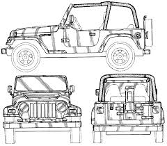 lifted jeep drawing index of blueprints jeep