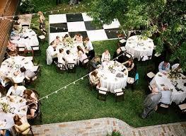 backyard weddings diy floors for home weddings small backyard weddings
