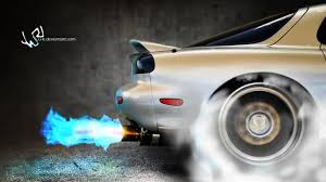 mazda u cars fire smoke mazda vehicles mazda rx 7 automotive burnout n2o