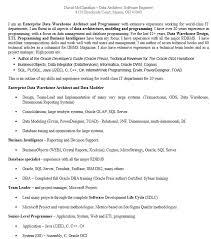 Data Architect Resume Sample by 16 Free Sample Database Architect Resume U2013 Sample Resumes 2016