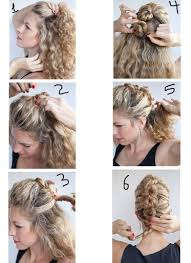 make hairstyles step by step for curly hairs best