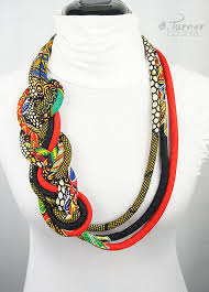 braided rope necklace images Long tribal african necklace ethnic braided necklace african jpg