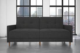 zipcode design ziva linen convertible sofa u0026 reviews wayfair