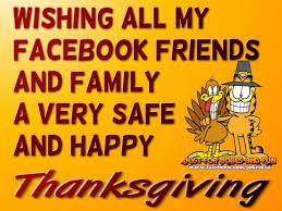 thanksgiving garfield wishing all my facebook friends a happy thanksgiving pictures