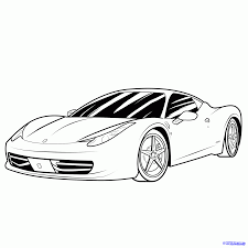 car ferrari drawing cars drawings free download clip art free clip art on