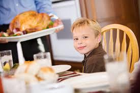 five thanksgiving tips for parents of diabetic children