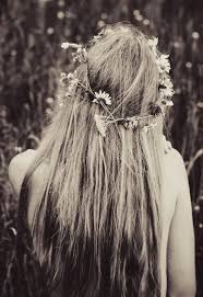 hairstyles for hippies of the 1960s long hippie hairstyle 1960 s boho hair accessories pinterest