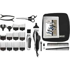 wahl deluxe chrome pro home haircutting kit 79524 5201 walmart com