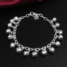 sterling silver beaded charm bracelet images H056 925 silver bracelet 925 sterling silver fashion jewelry jpg