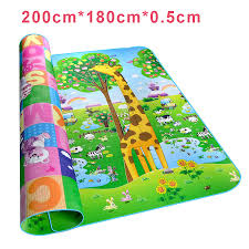 Childrens Play Rug by Kids Rug Soft Floor Road Mat For Children Activity Mat Crawling